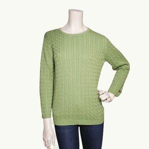 POLO Ralph Lauren Sport Womens Sweater XL Green